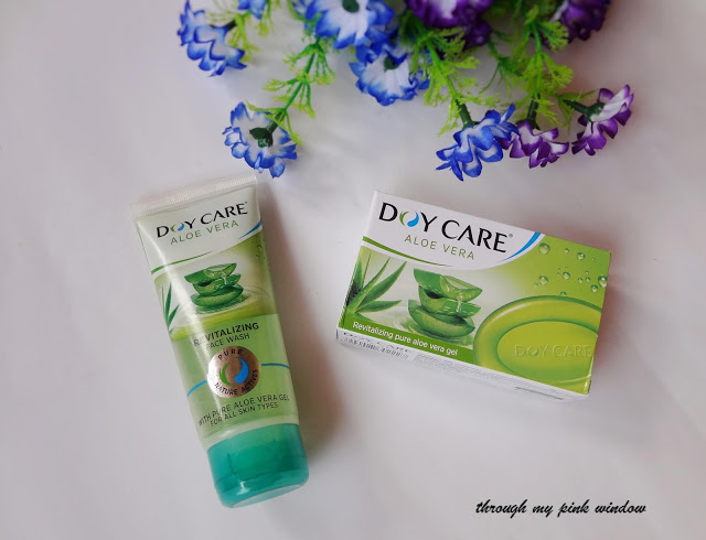 Doy care aloe vera soaps and Face wash : Review