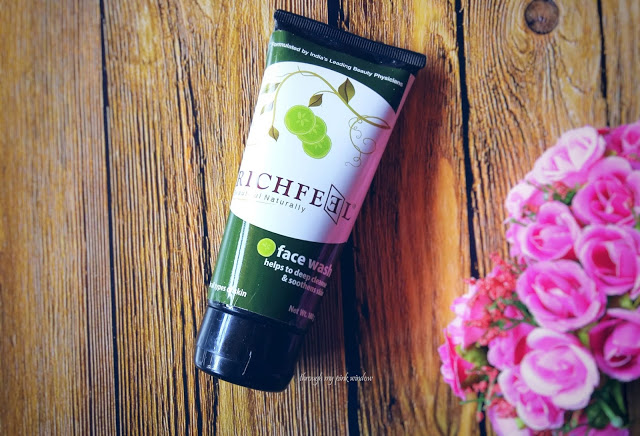 Richfeel Cucumber Face Wash for Oily Skin and Dirt Removal:  Review